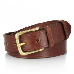 Hugo Boss Leather belt brown