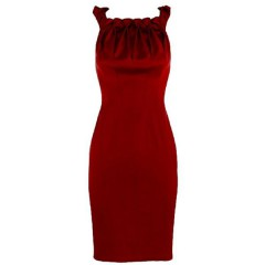 Desigual Evening dress red