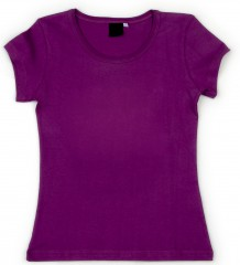 Desigual Women's purple T-shirt
